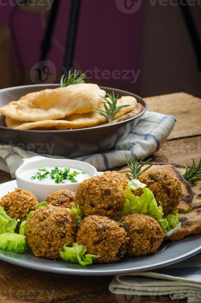 falafel croccante di salute foto