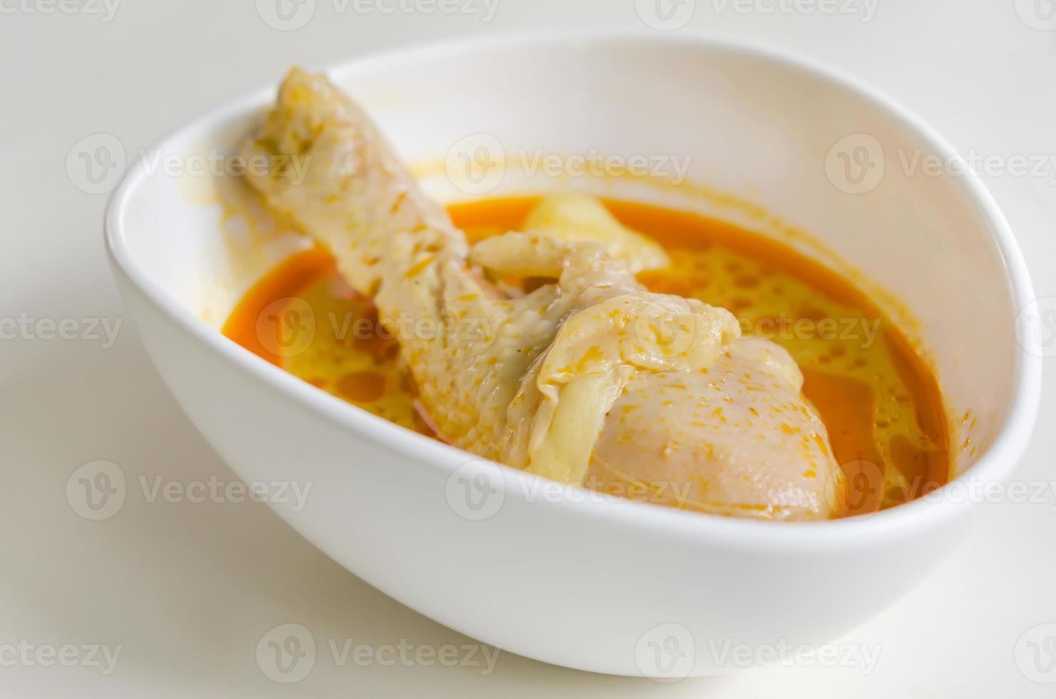 pollo al curry massaman foto