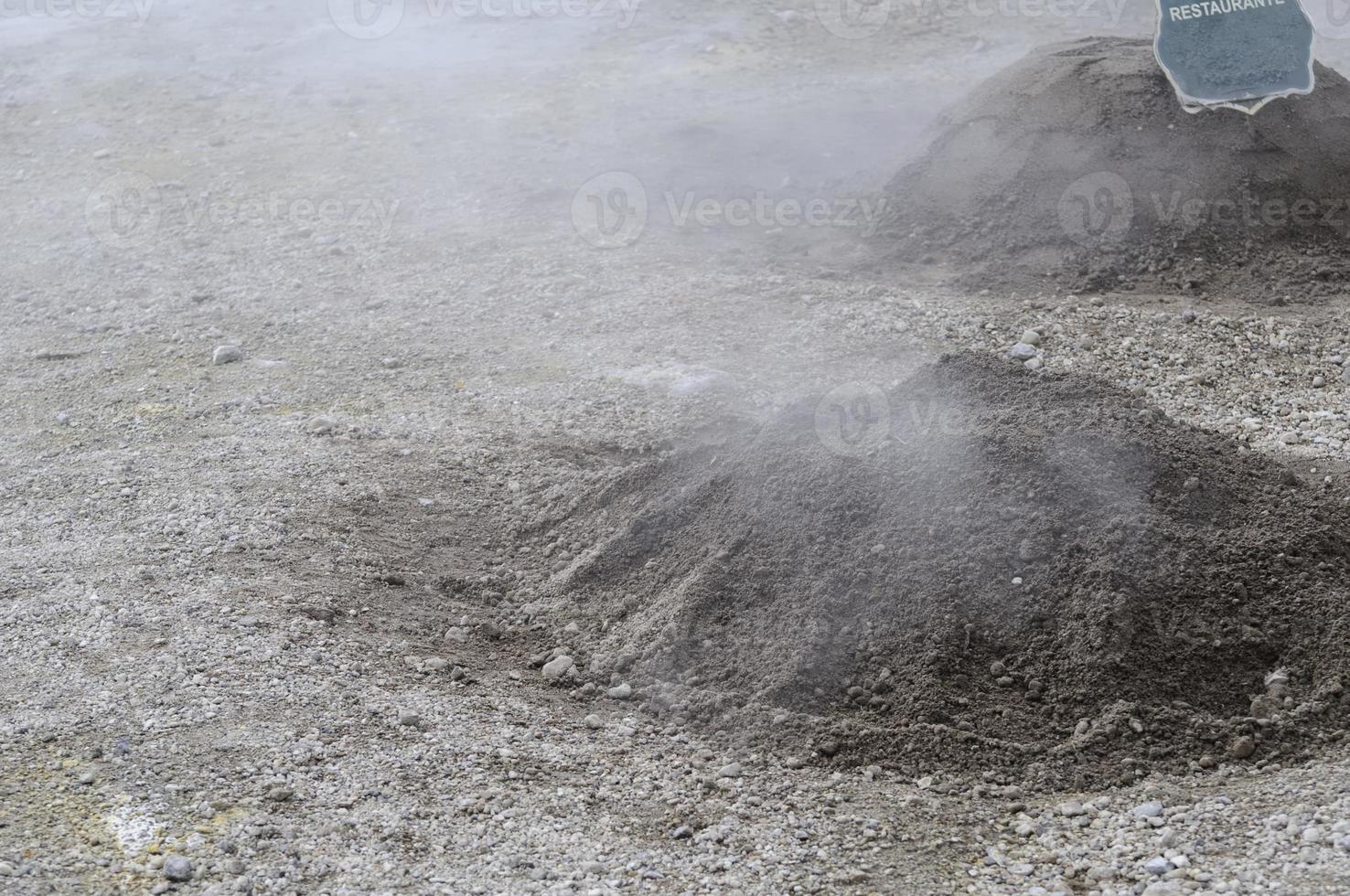 cucina vulcanica foto