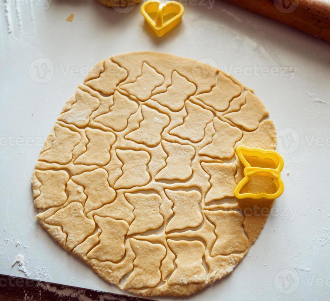 fare biscotti foto