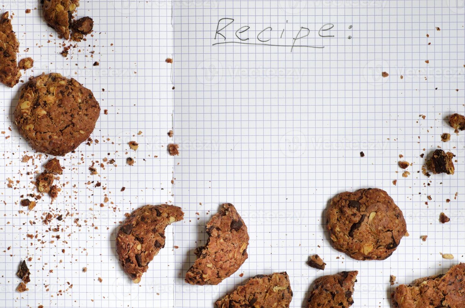 ricetta di biscotti al cioccolato foto