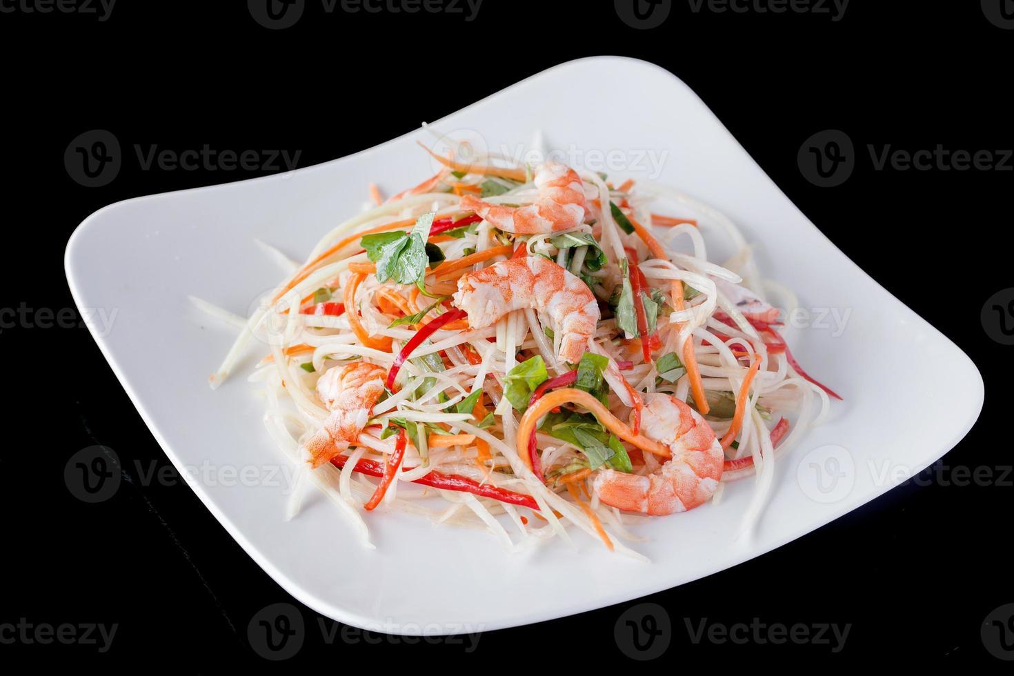 ricette di insalata di gamberi freschi foto