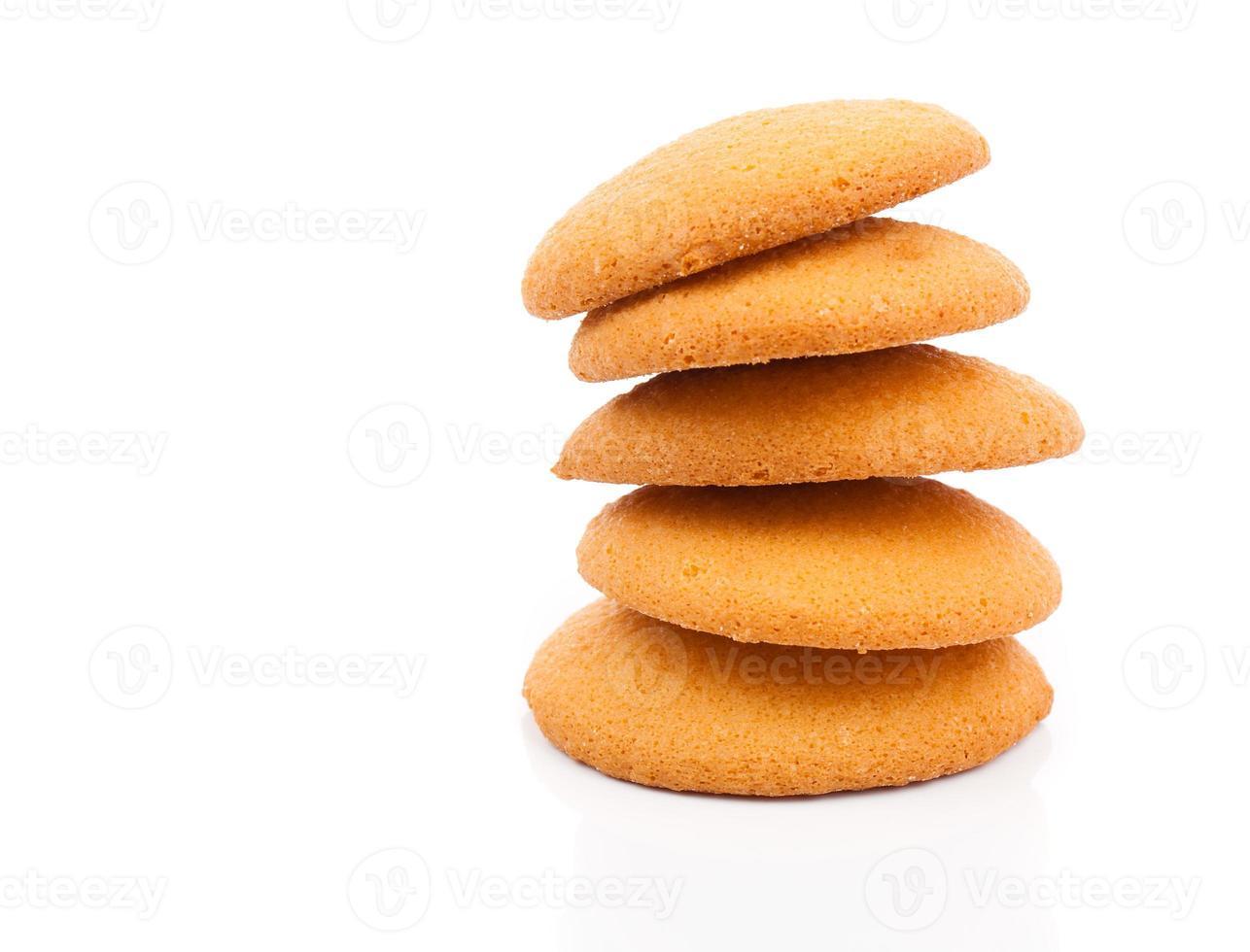 biscotti, pila di biscotti foto