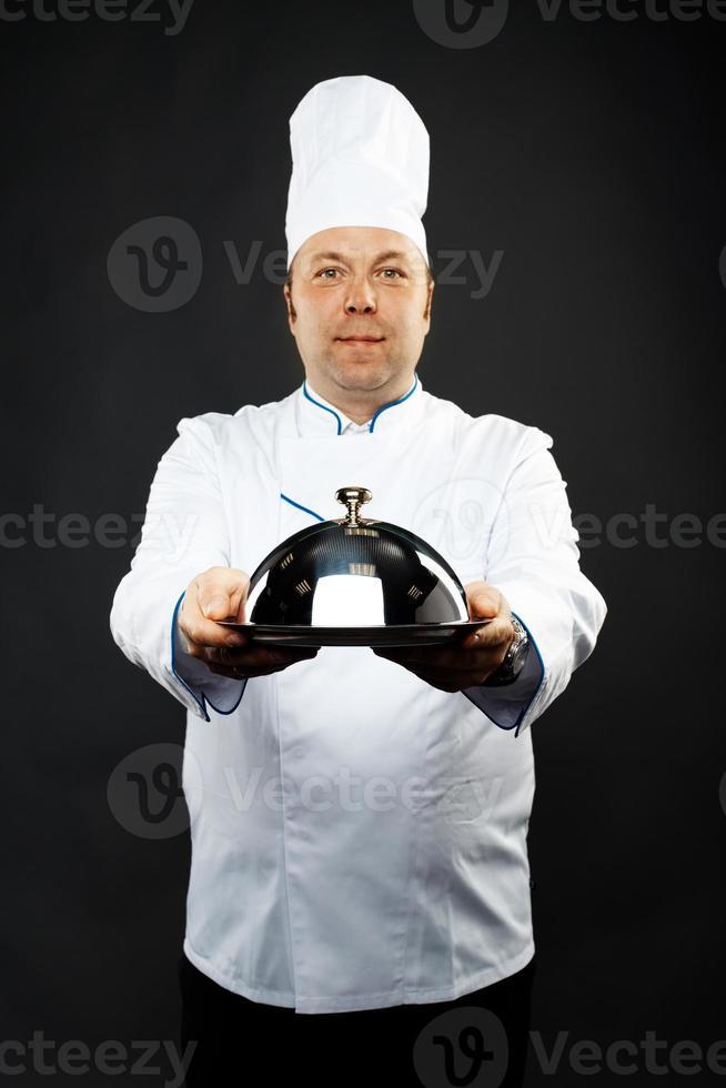 chef fiducioso foto