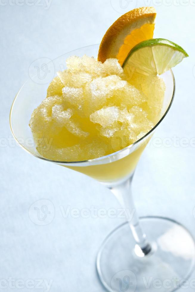 Bevanda congelata di margarita agli agrumi foto