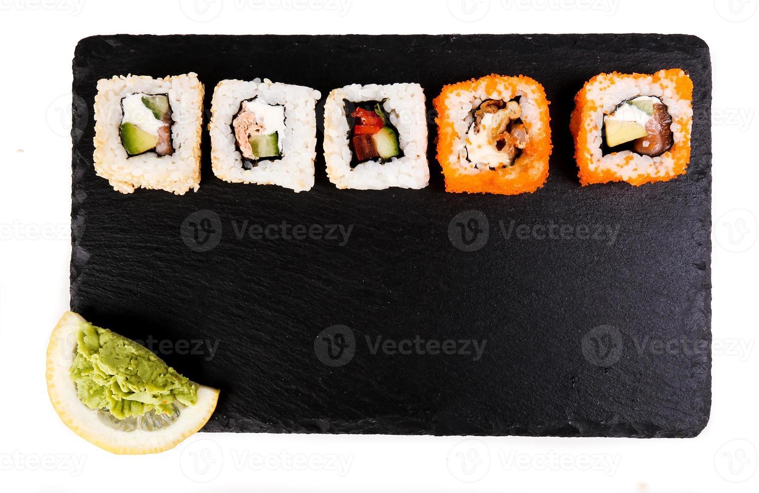 delizioso sushi foto