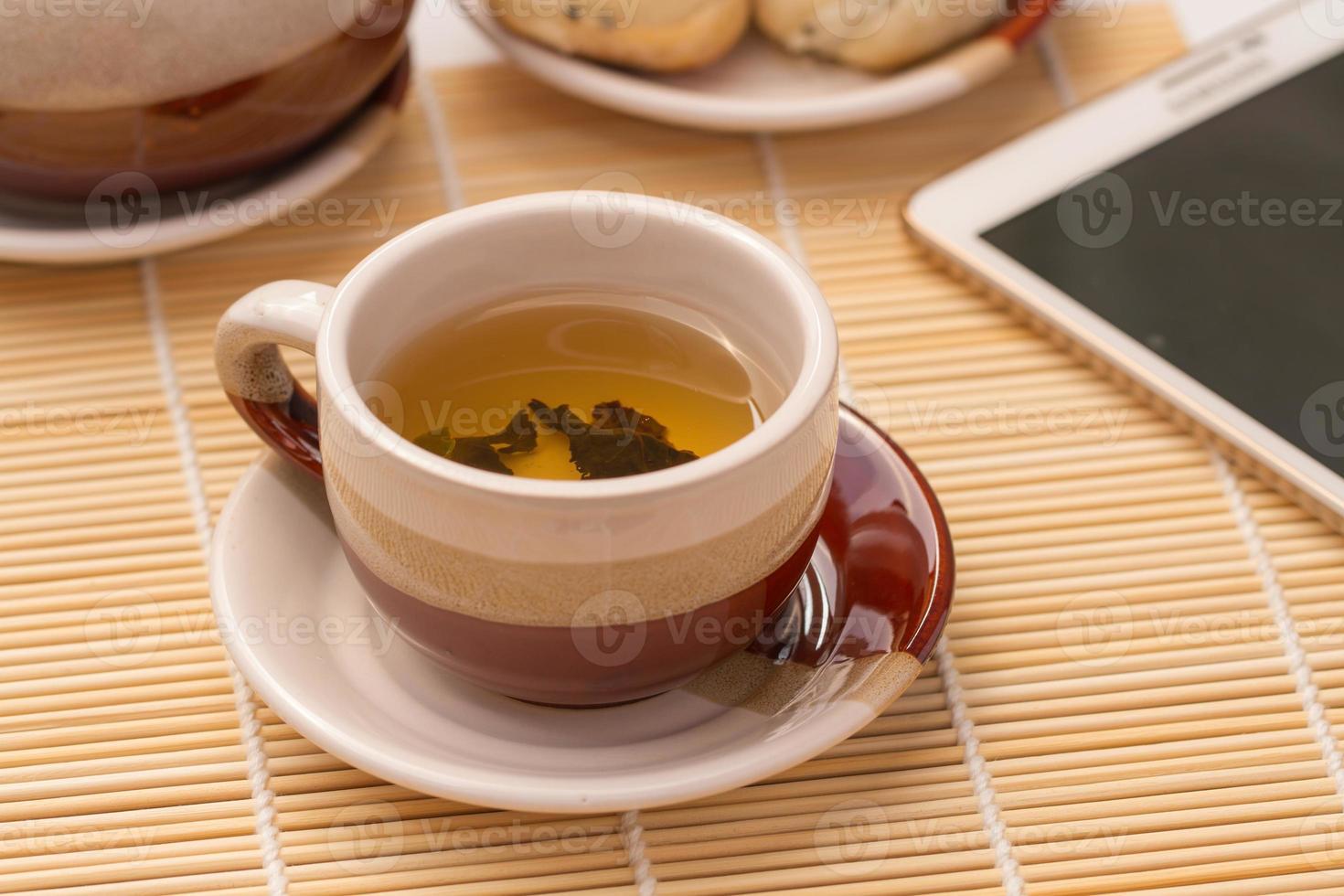 tè caldo foto