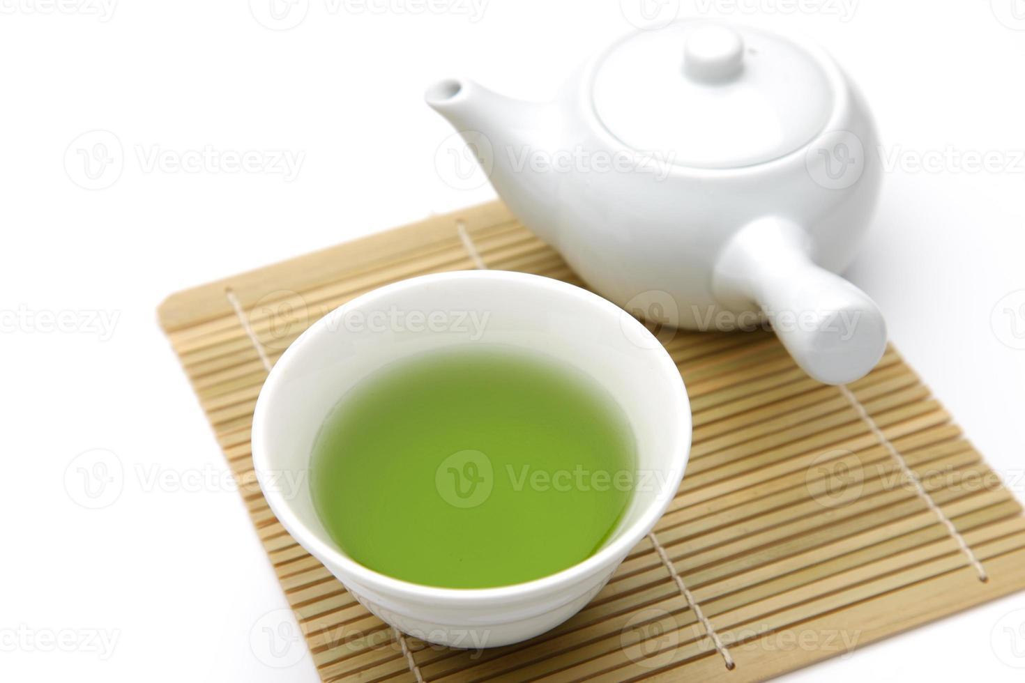 tè giapponese foto
