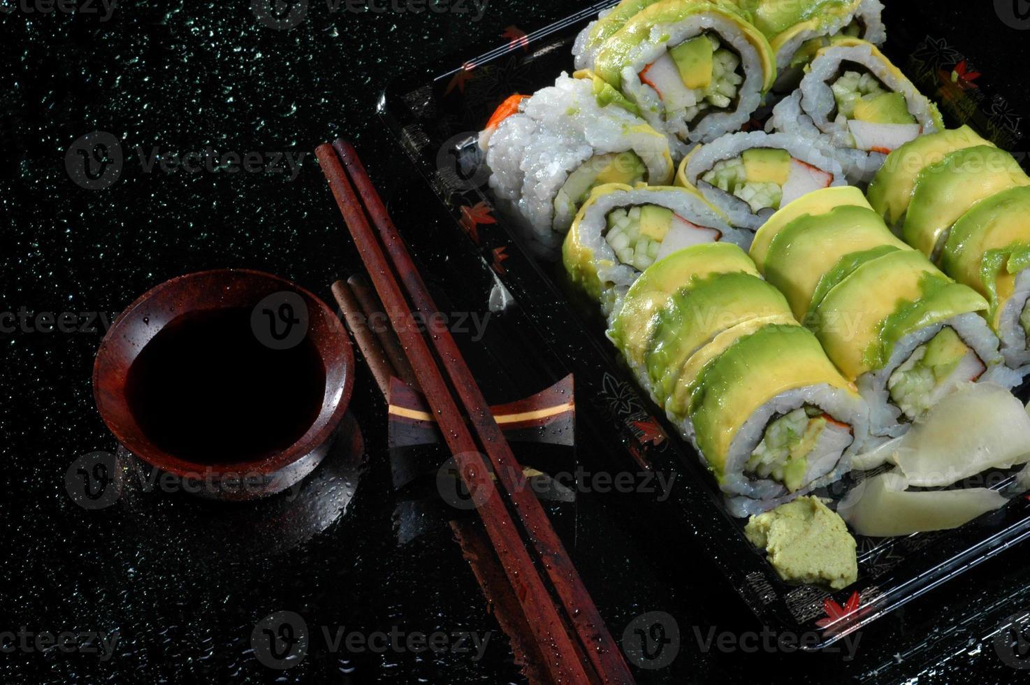 ristorante di sushi foto