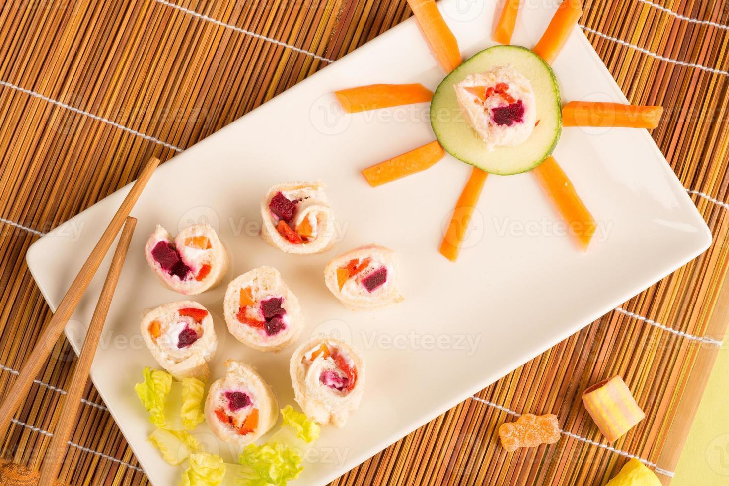 sushi finto foto