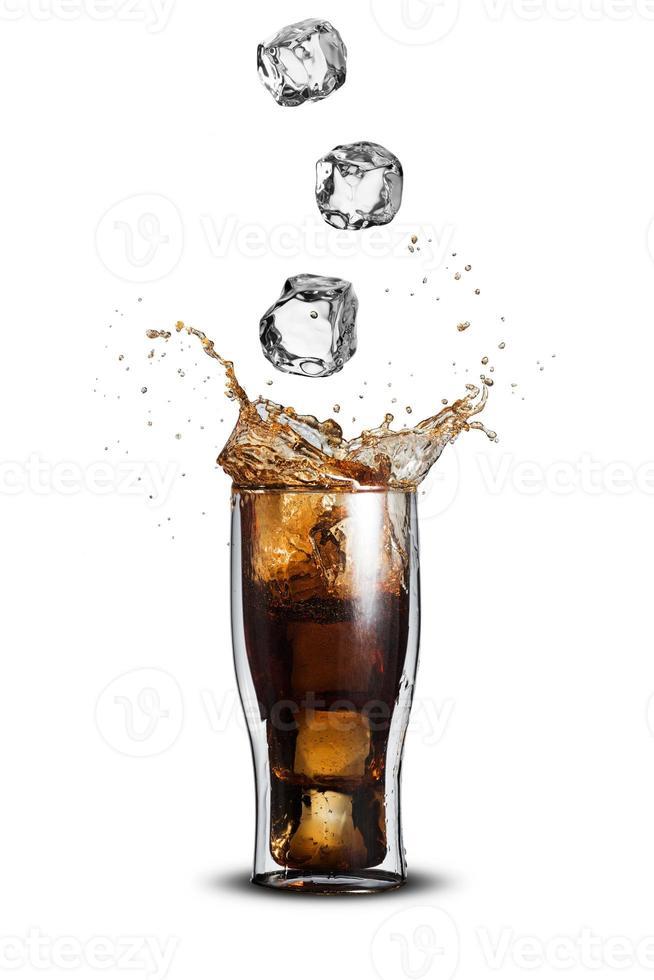 splash di cola foto