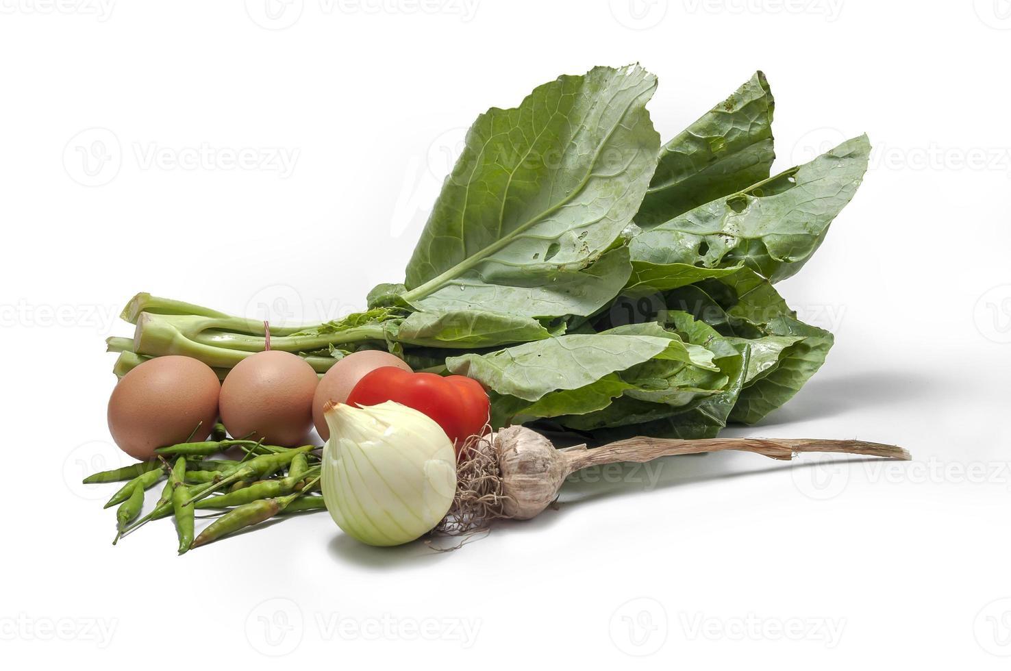 ostriche di cavolo broccoli foto