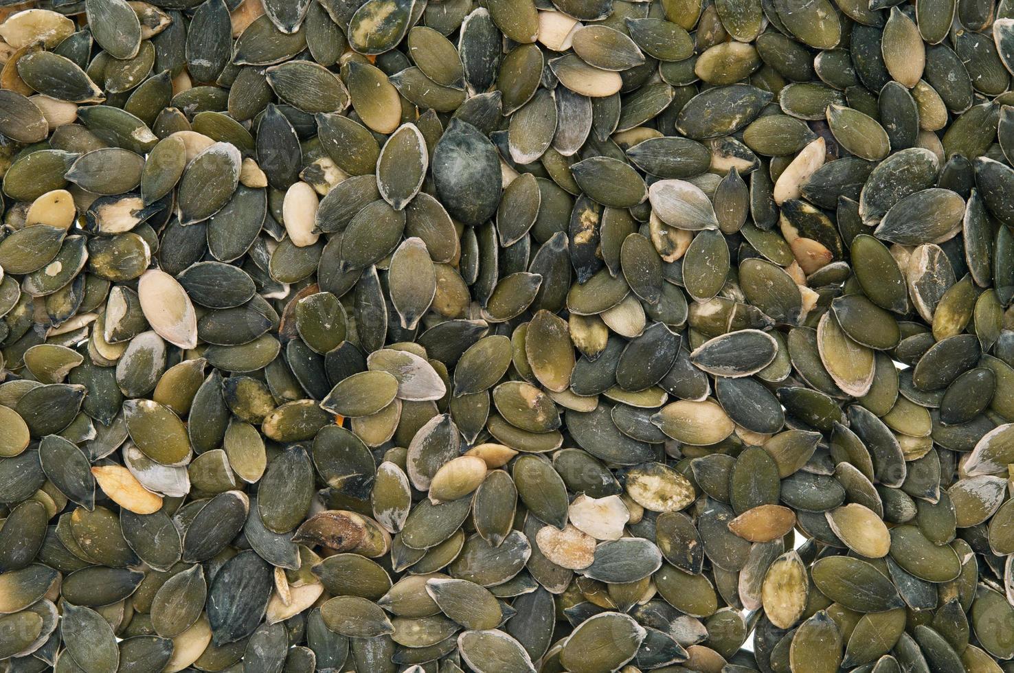 semi di zucca sbucciati foto