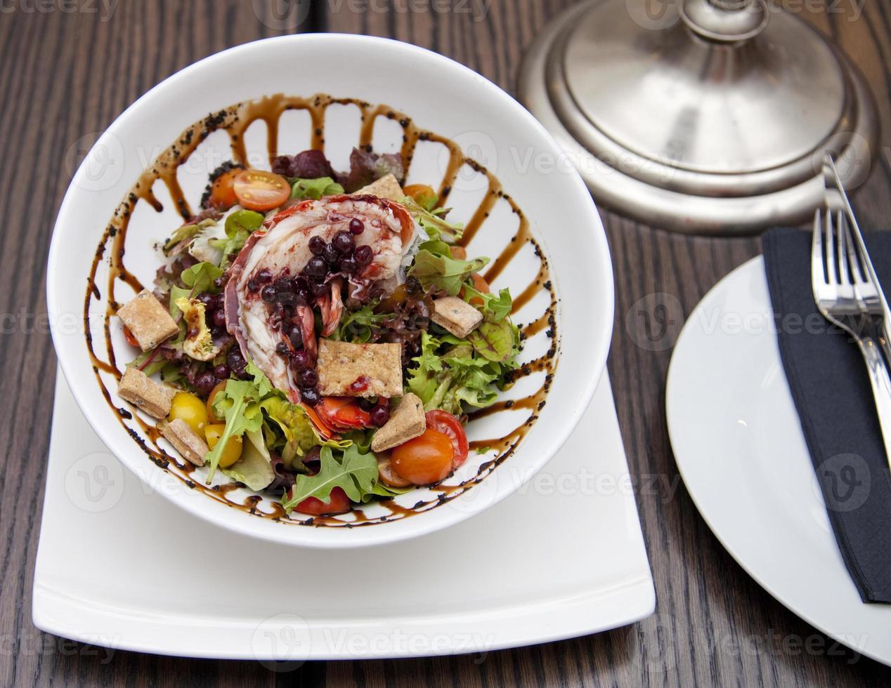 insalata di aragosta foto