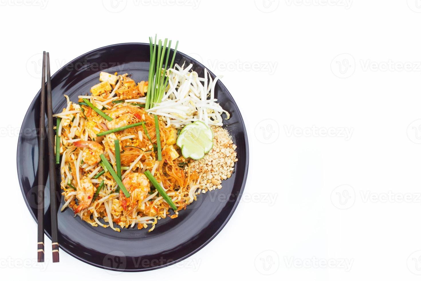 rilievo di alimento tailandese tailandese. foto