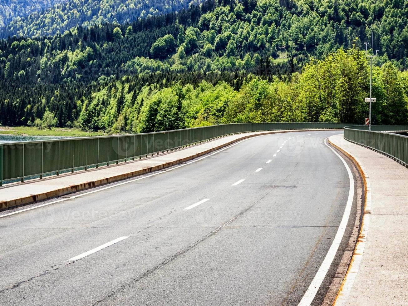 strada di campagna foto