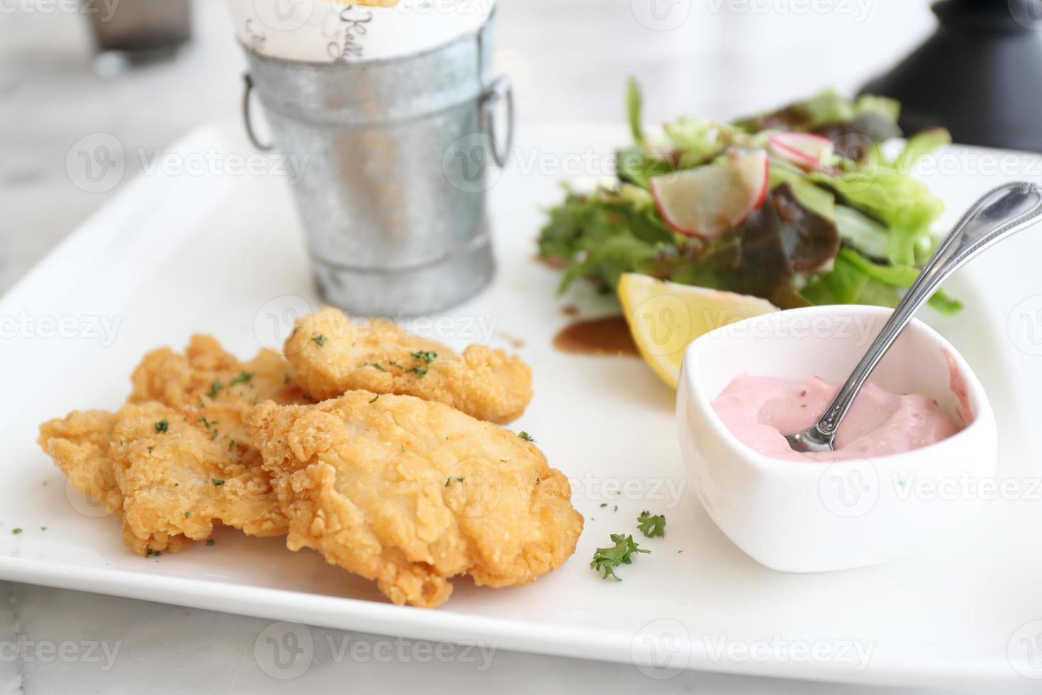 pesce fritto foto