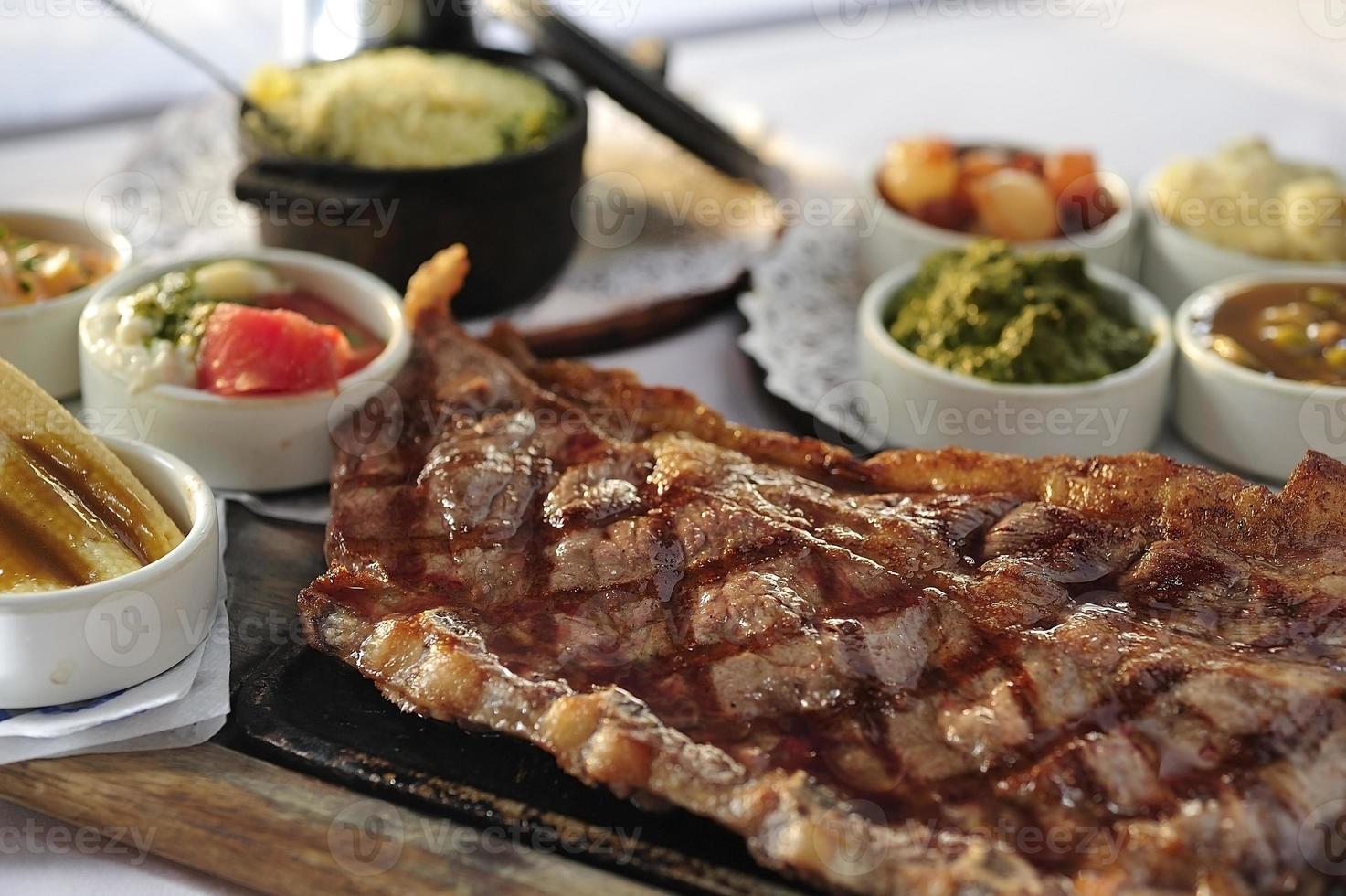 bistecca di manzo argentina foto