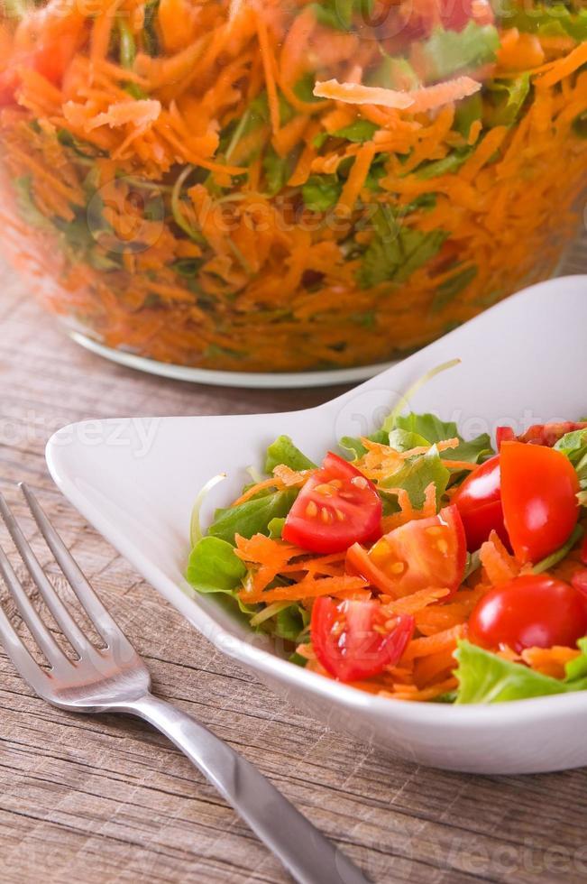insalata di verdure. foto