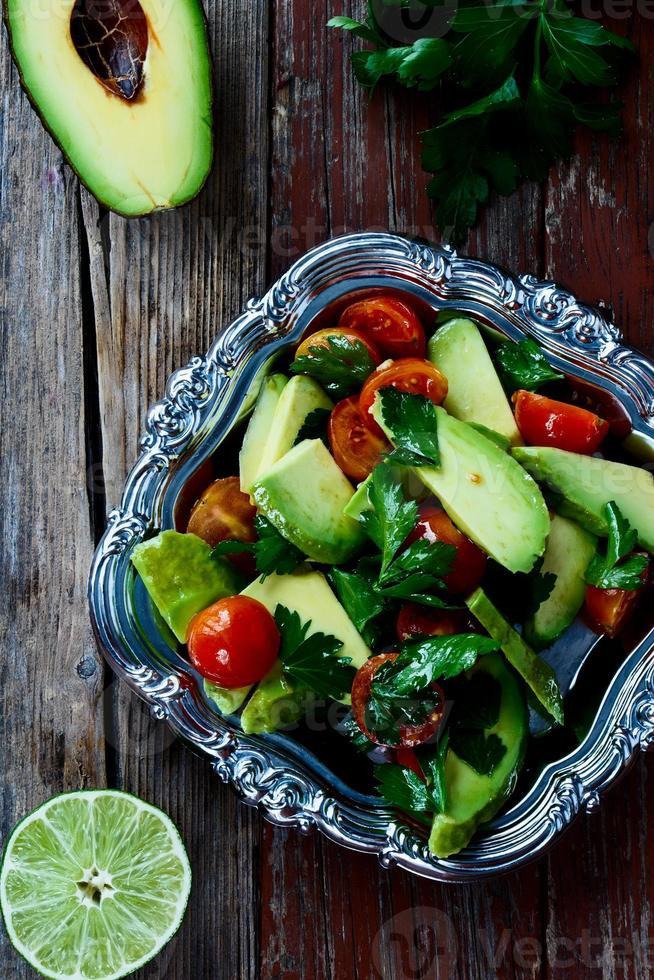 insalata di avocado foto