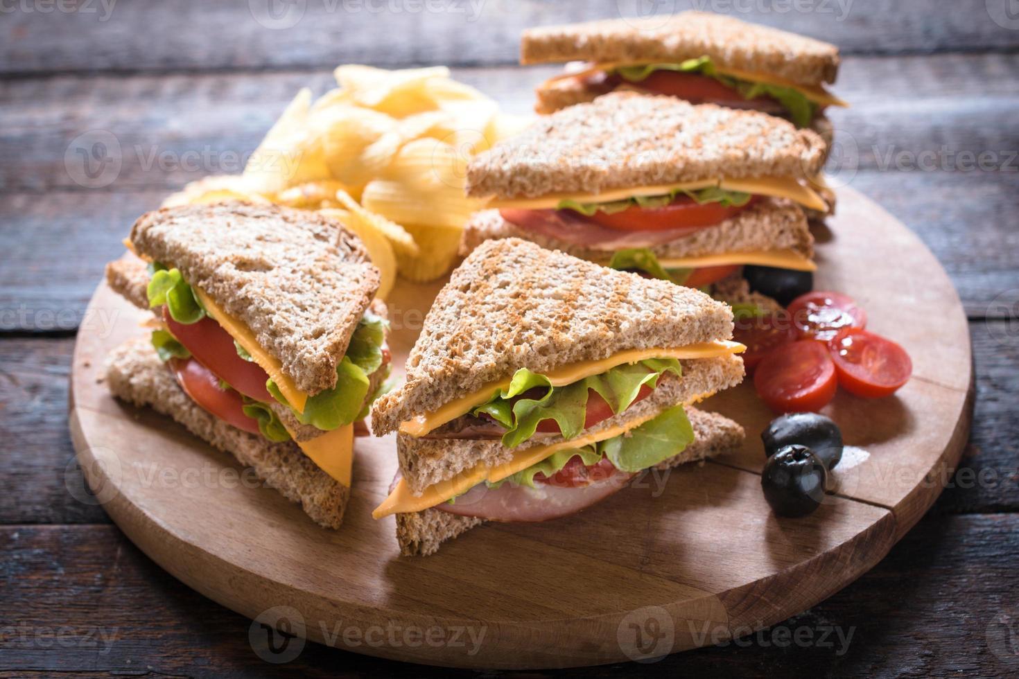 sandwich di club foto