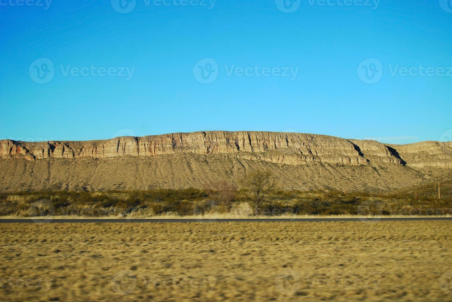 mesa del deserto foto