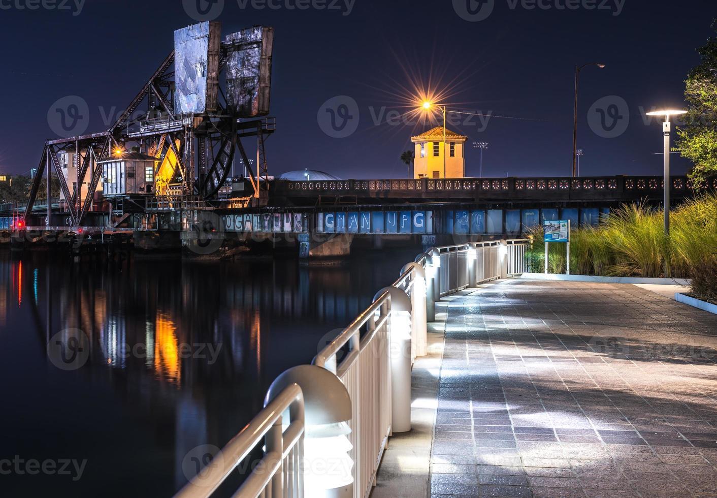 passeggiata sul fiume Tampa foto