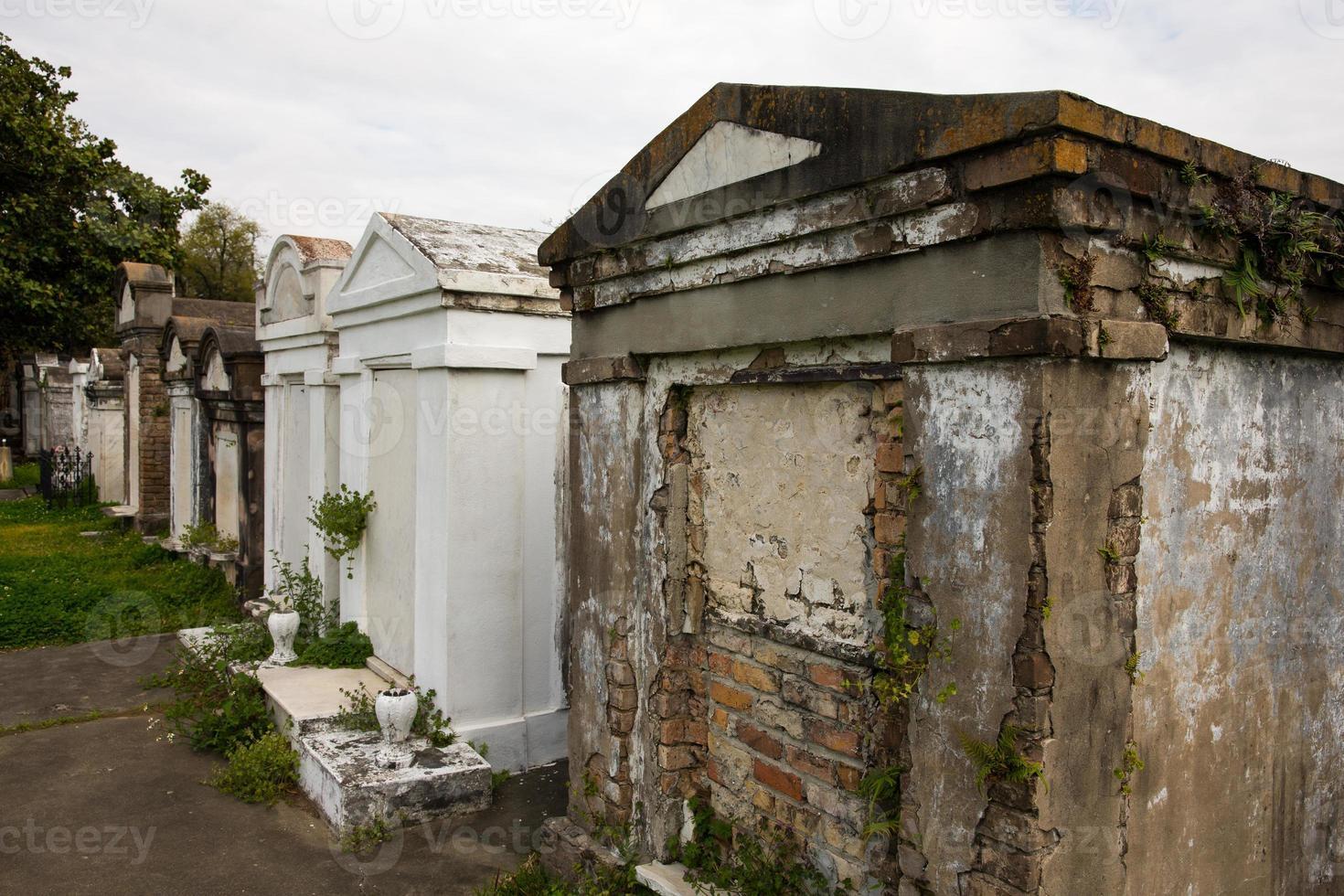 New Orleans - cimitero fuori terra foto