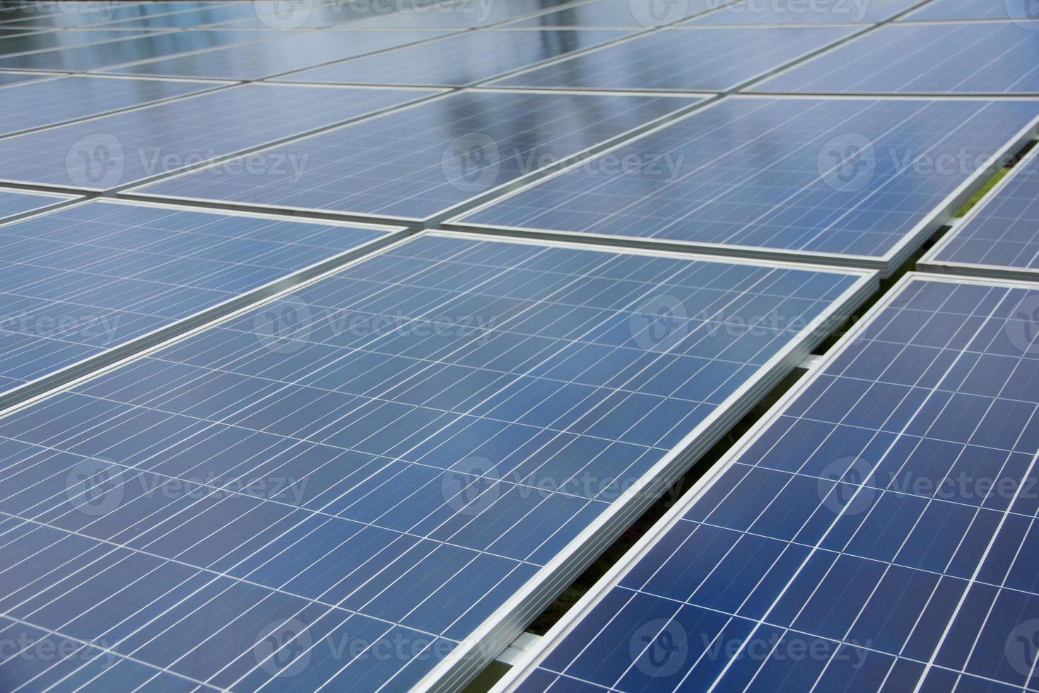 stock photo: primo piano del pannello solare foto