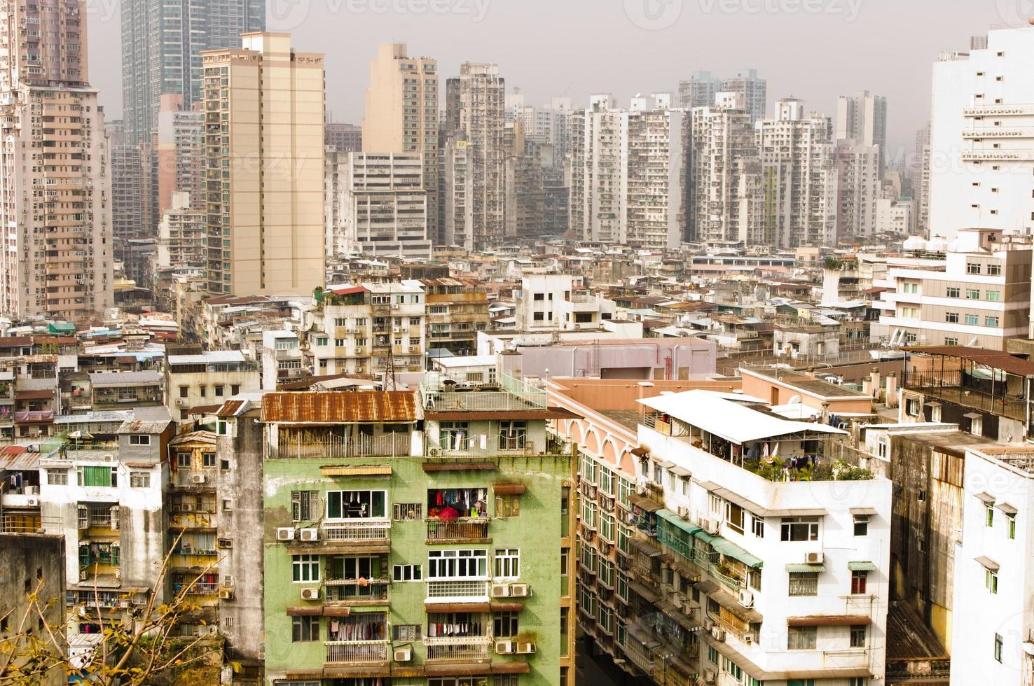 città dell'asia. macau foto