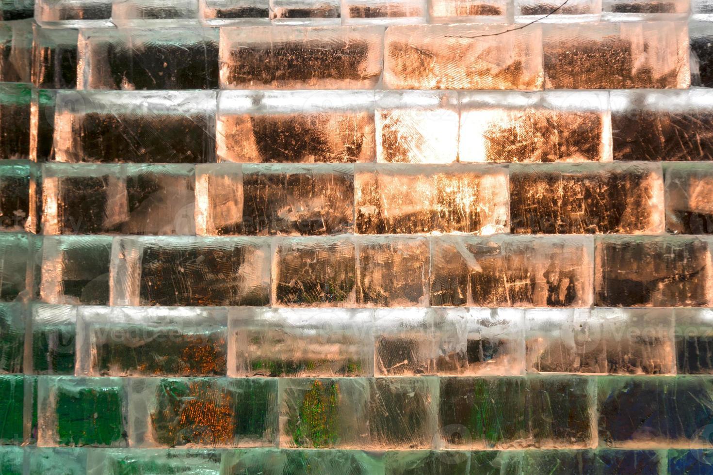 muro di ghiaccio foto