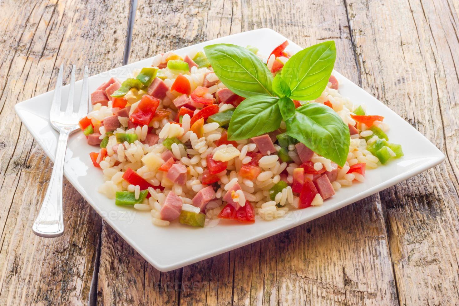 insalata di riso foto