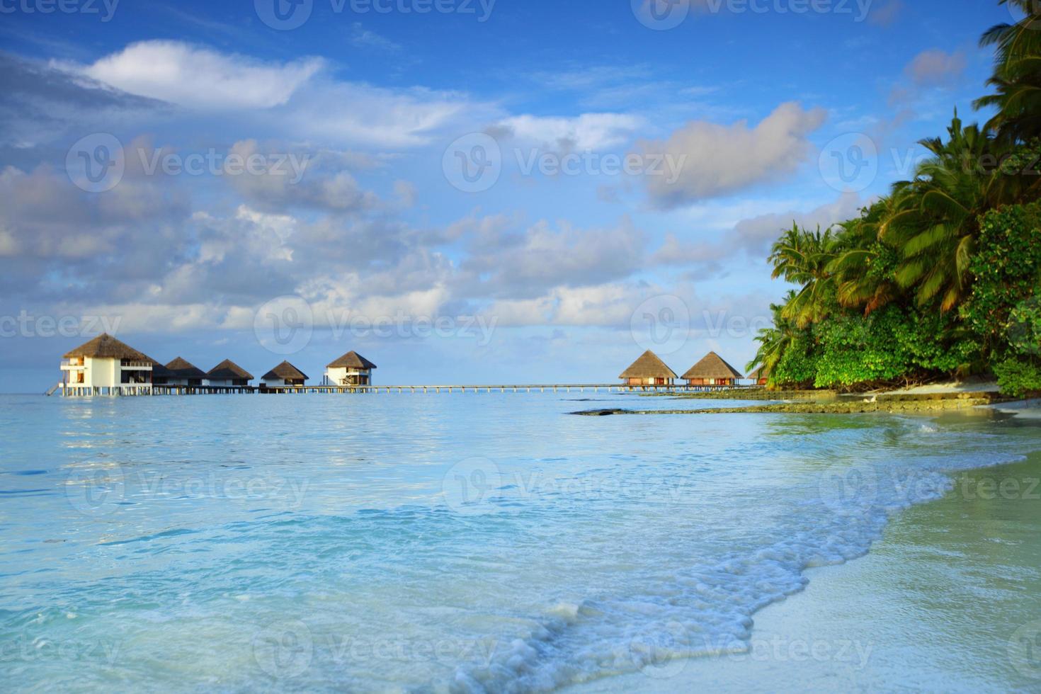 paesaggio delle maldive foto