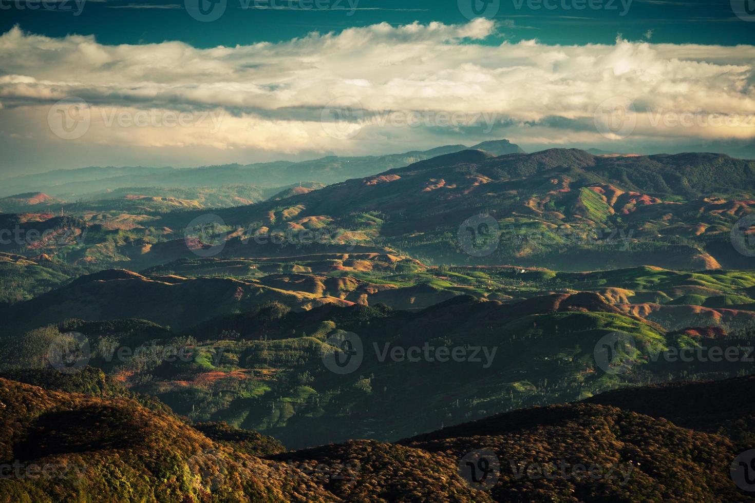 paesaggio della Sri Lanka foto