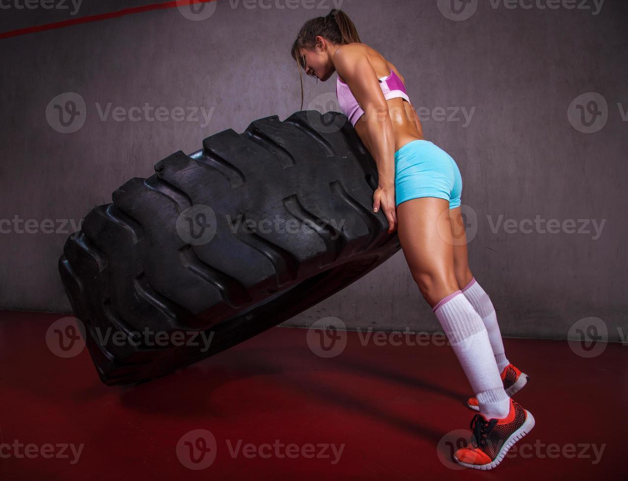 vibrazione del pneumatico foto