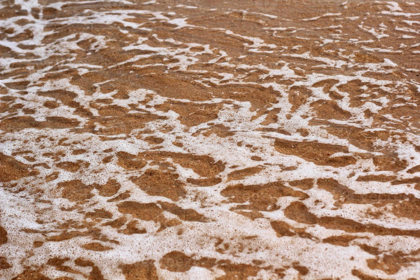 sole di sabbia di mare foto