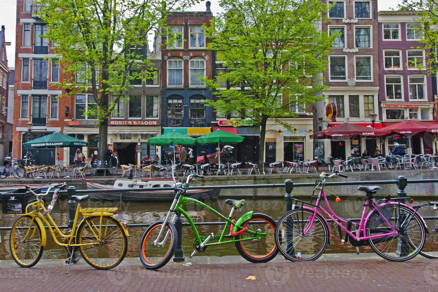 biciclette ad amsterdam foto