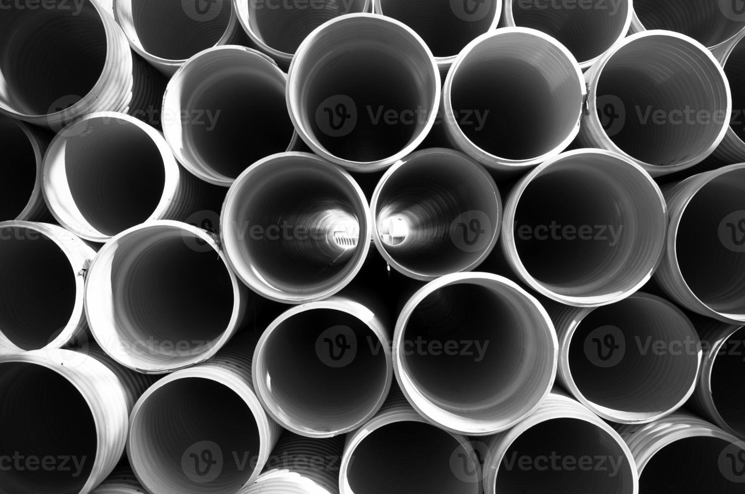 tubo di plastica in pvc foto