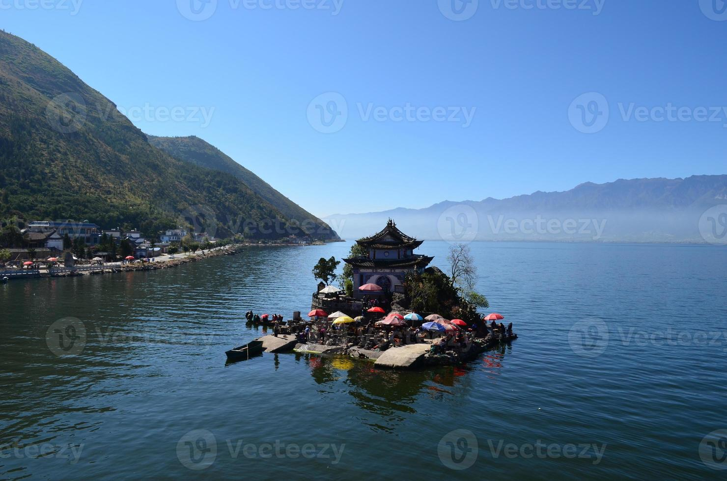 Lago Erhai foto