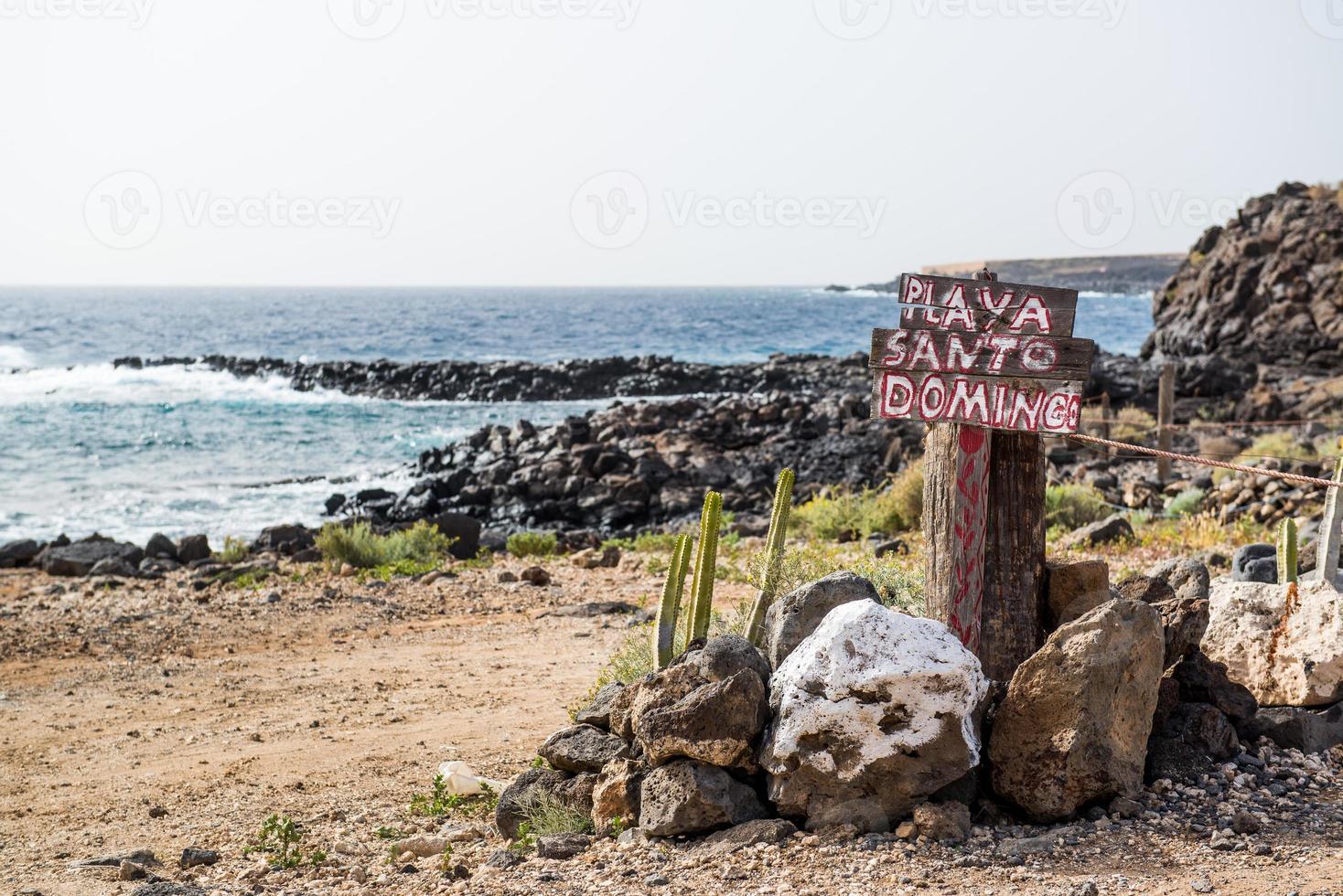 spiaggia di Santo Domingo foto