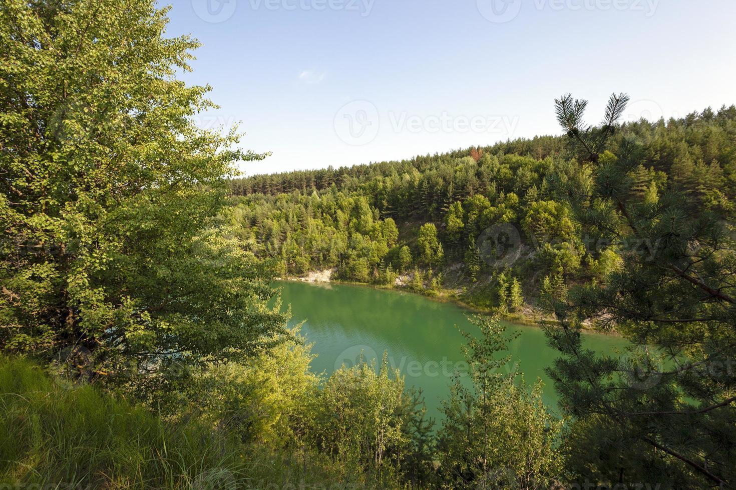 lago artificiale bielorussia foto