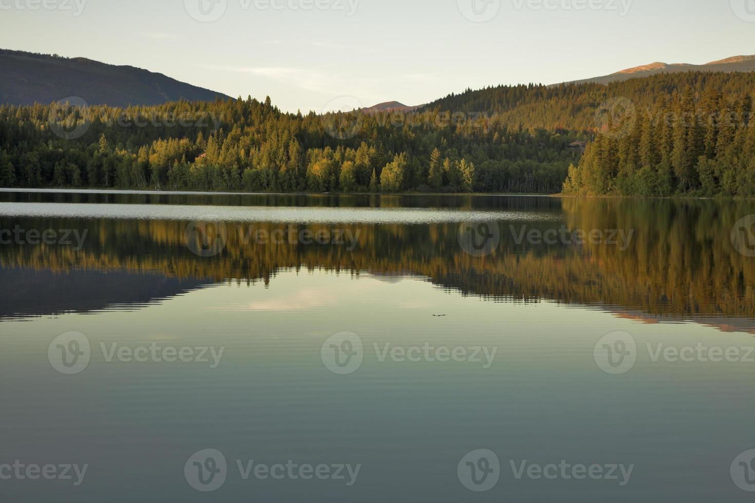 silenzio del lago. foto