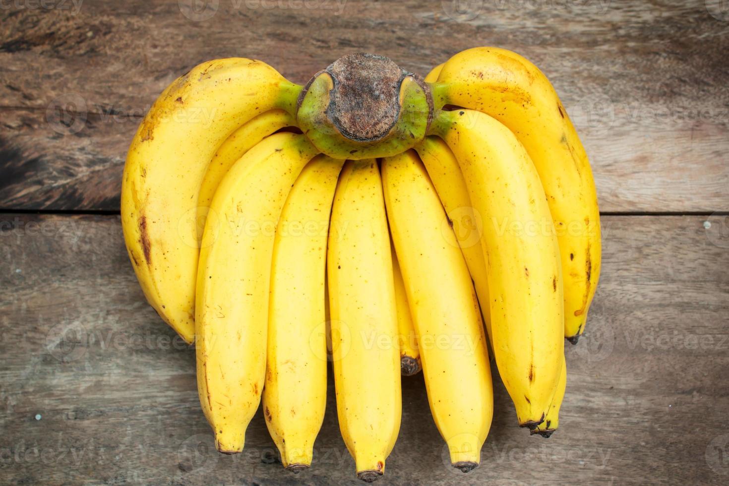 mazzo di banane. foto