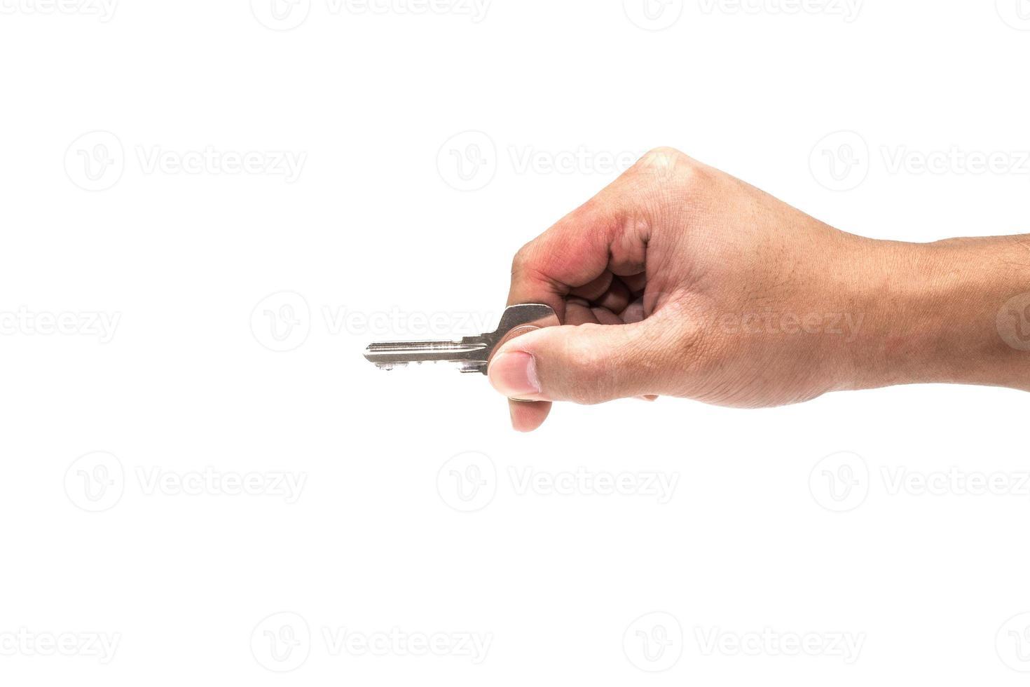 mano con chiave foto