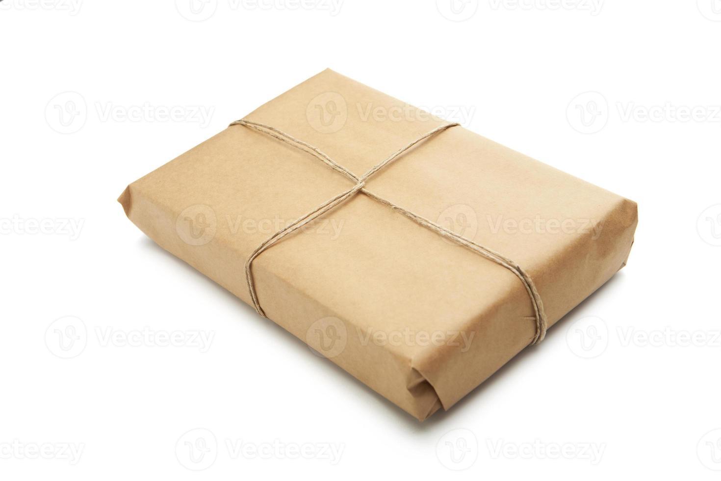 pacco marrone foto