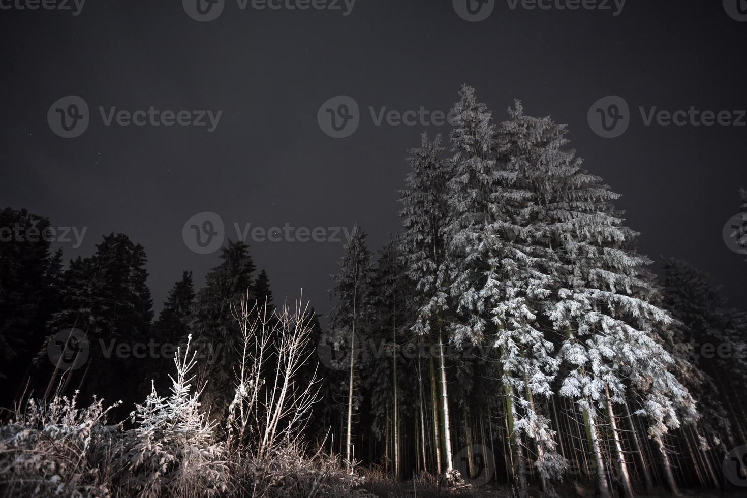 Winterberg Germania di notte foto