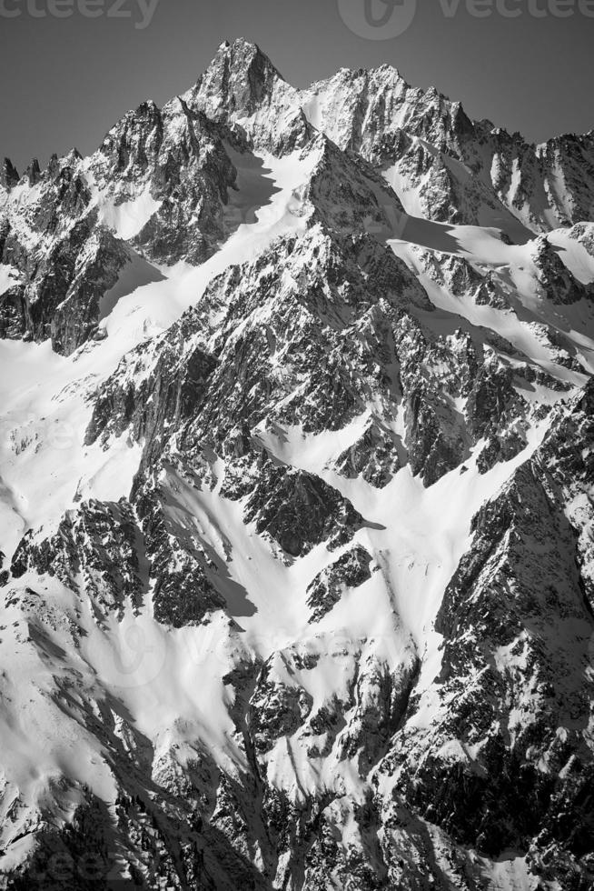 tour noir in bianco e nero foto