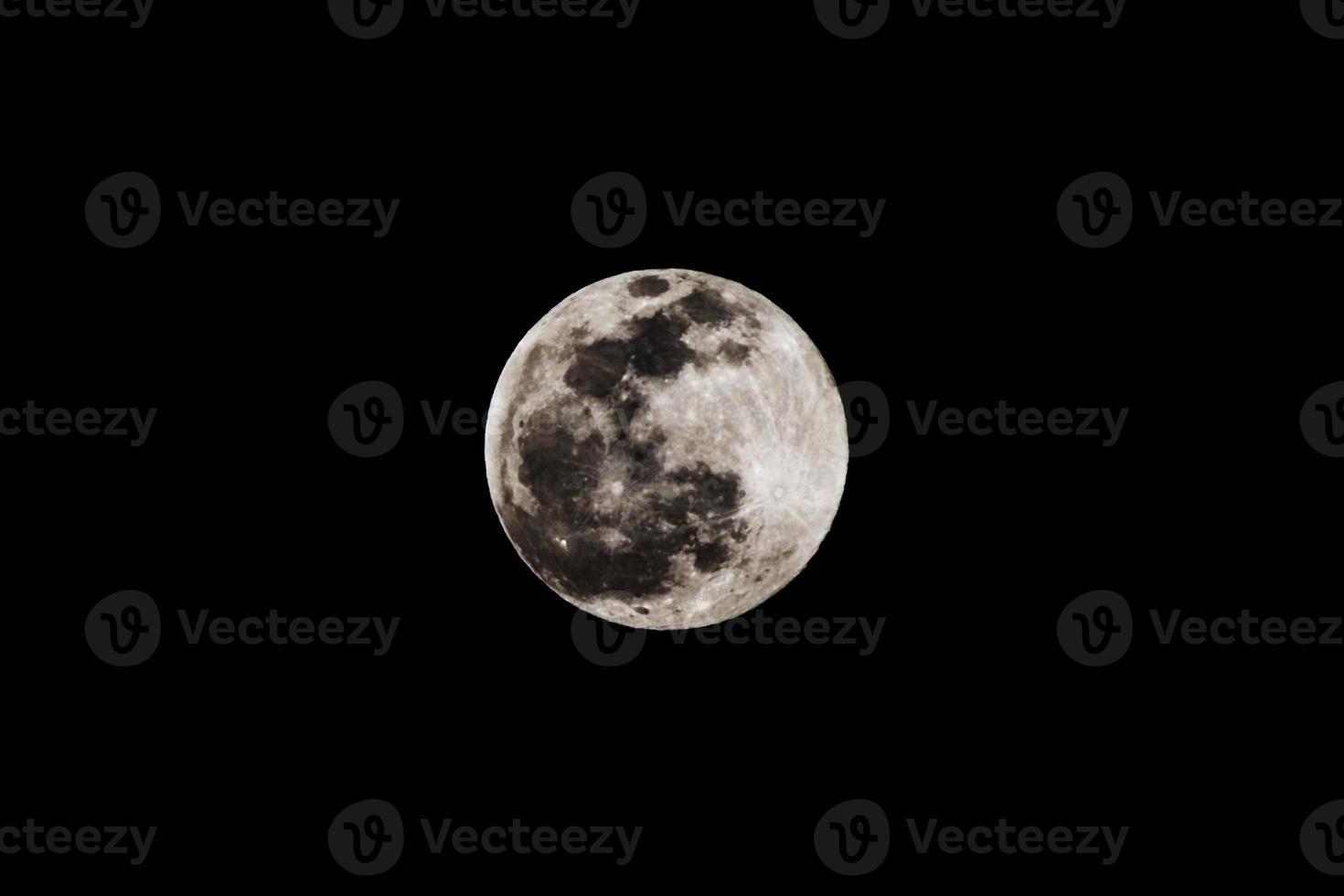 fase lunare foto