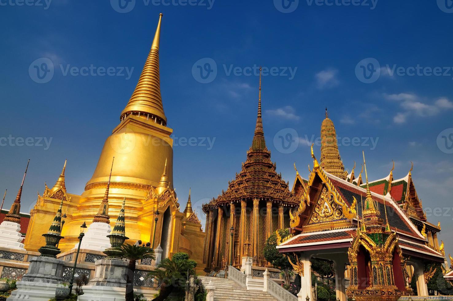 wat phra kaeo, tempio dello smeraldo buddha foto