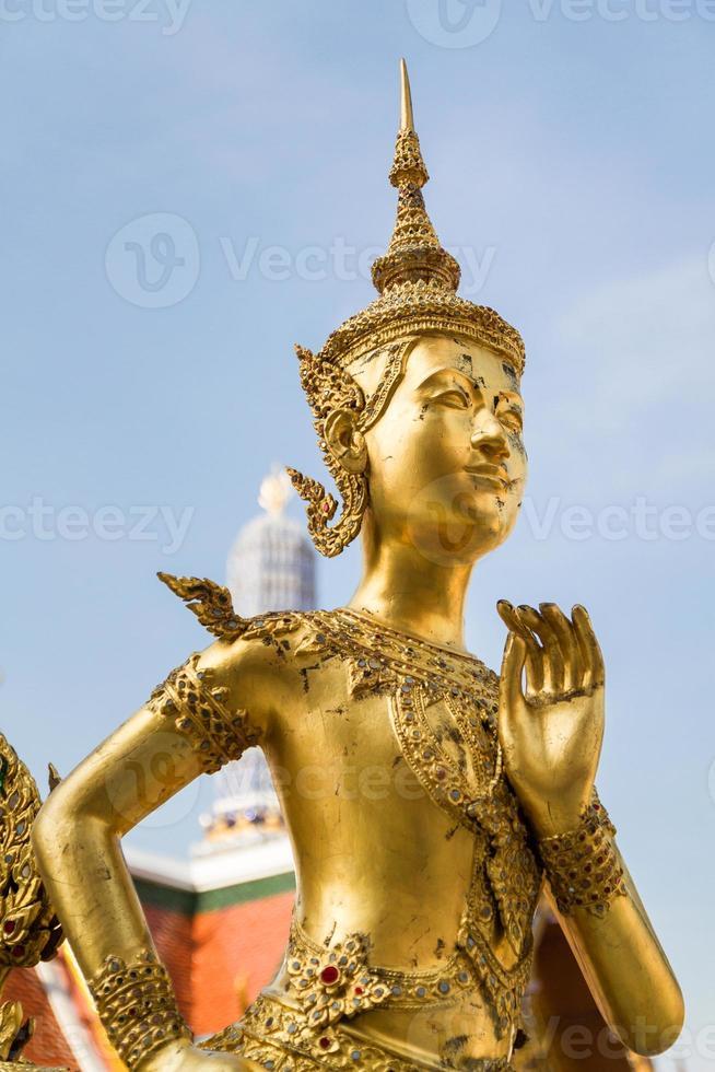 guardiano del demone a Wat Phra Kaew foto